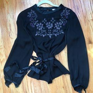 MINT silk blouse